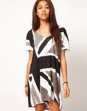 Image 1 ofReligion Exclusive to ASOS Union Jack Dress
