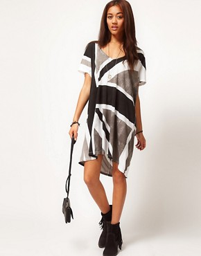 Image 4 ofReligion Exclusive to ASOS Union Jack Dress
