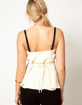 Image 2 ofASOS Maternity Cami With Elasticated Straps