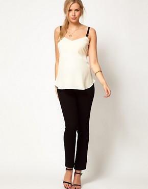 Image 4 ofASOS Maternity Cami With Elasticated Straps