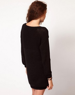 Image 2 ofVero Moda Ribbon Knitted Dress