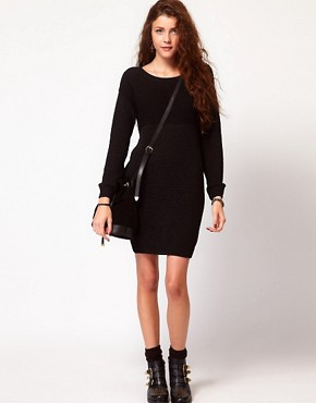 Image 4 ofVero Moda Ribbon Knitted Dress