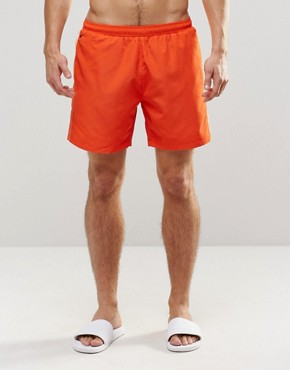 Hugo Boss Seabream Swim Short In Orange