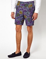 ASOS Shorts in Tropical Print