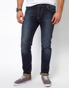 Image 1 ofASOS Skinny Indigo Jean