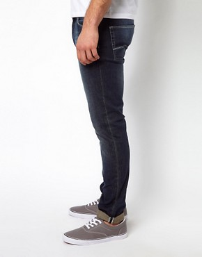 Image 4 ofASOS Skinny Indigo Jean