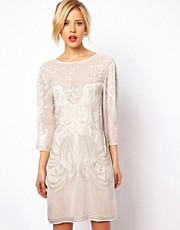 ASOS Baroque Embellished Dress