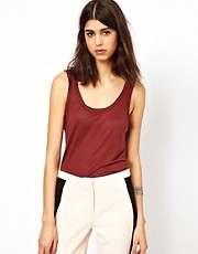 Selected Dex Basic Sleeveless Tank Top