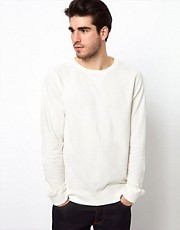 Nudie Crew Sweatshirt Organics Basics