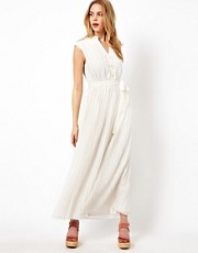 Darling Maxi Dress with Tie Waist