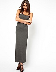 ASOS Eyelet Strap Buckle Maxi Dress