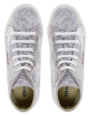 Image 3 ofSuperga 2095 Velvu Trainers