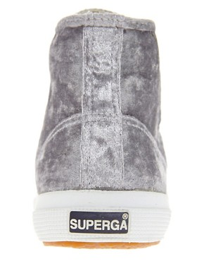 Image 4 ofSuperga 2095 Velvu Trainers