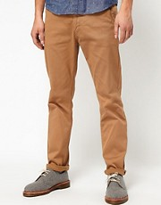 Velour Slim Chinos