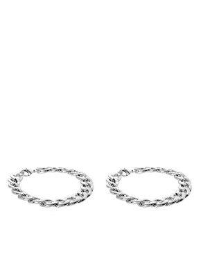 Image 1 ofASOS Pack of Two Chain Bracelets