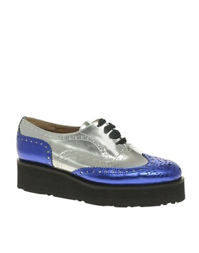 Image 1 ofASOS MACKIE Platform Lace Up Brogue