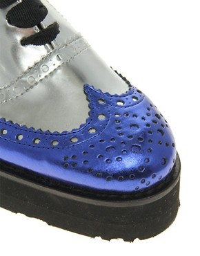 Image 2 ofASOS MACKIE Platform Lace Up Brogue