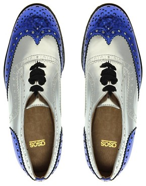 Image 3 ofASOS MACKIE Platform Lace Up Brogue