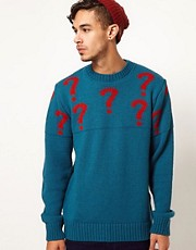 Common Sons Jumper with Question Mark Print