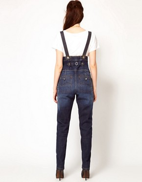 Image 2 ofVivienne Westwood Anglomania For Lee Bombardier Dungarees
