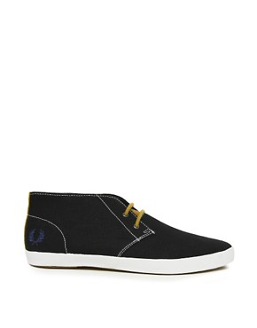 Image 4 ofFred Perry Byron Canvas Chukka Boots