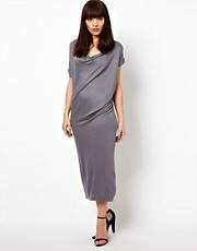 Improvd Skylar Draped Jersey Dress