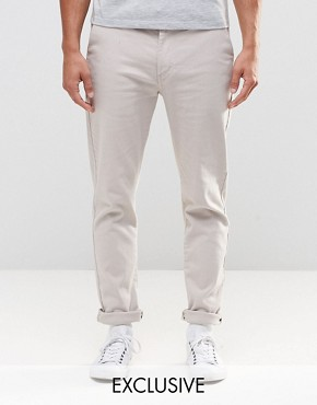 Brooklyn Supply Co Skinny Chinos in Beige