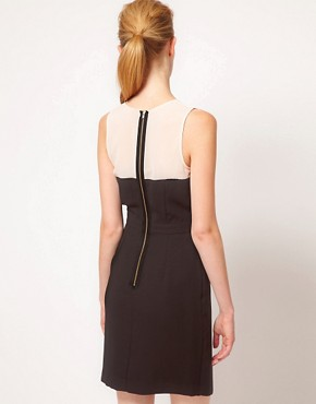 Image 2 ofWarehouse Plunge Front Dress