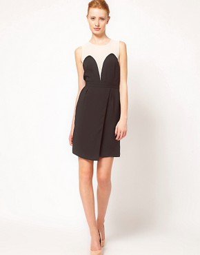 Image 4 ofWarehouse Plunge Front Dress