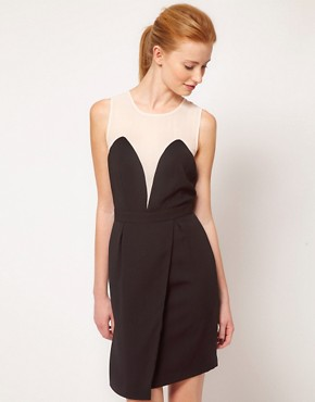 Image 1 ofWarehouse Plunge Front Dress