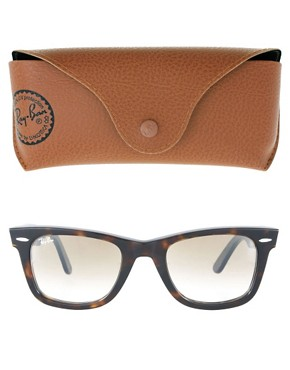 Image 2 ofRay-Ban Tortoise Original Wayfarer Sunglasses