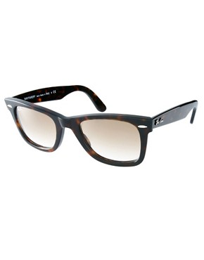 Image 1 ofRay-Ban Tortoise Original Wayfarer Sunglasses