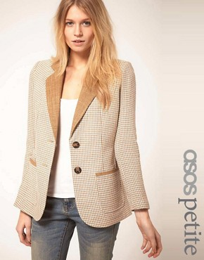Image 1 ofASOS PETITE Exclusive Longline Blazer
