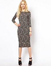 River Island Column Midi Dress