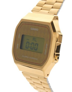 Image 3 ofCasio A168WG-9BWEF Digital Quartz Gold Watch Exclusive to ASOS