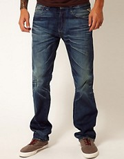 Replay Jeans New Doc Laserblast Regular Tapered Fit