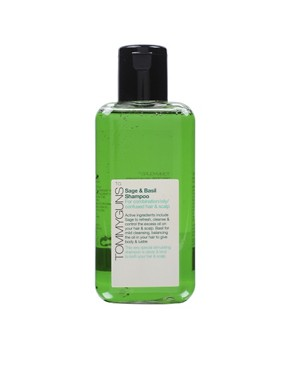 Image 1 ofTommy Guns Sage And Basil Shampoo For Oily Confused Hair And Scalp 250ml
