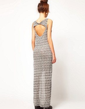 Image 2 ofRiver Island Space Dye Dipped Hem Dress