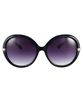 Image 2 ofMango Oversized Round Frame Sunglasses