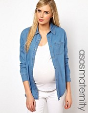 ASOS Maternity Denim Shirt