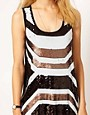 Image 3 ofMango Deco Sequin Vest