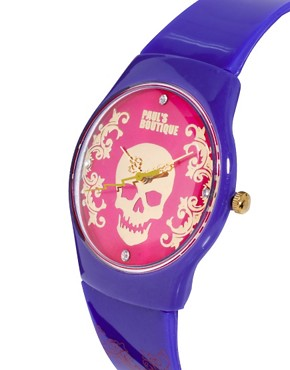 Image 4 ofPaul&#39;s Boutique Skull Face Watch