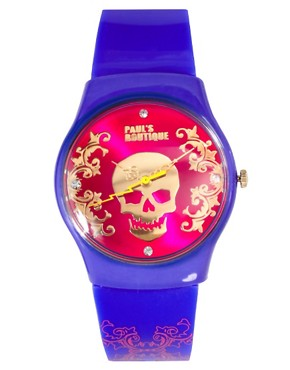 Image 1 ofPaul&#39;s Boutique Skull Face Watch