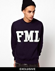 Reclaimed Vintage Sweat with FML Embroidery