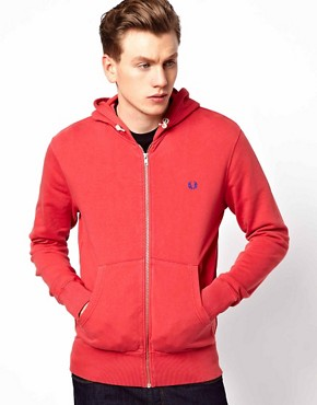 Image 1 ofFred Perry Sweatshirt with Hood