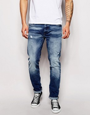 Jack & Jones Slim Fit Jeans with Rips