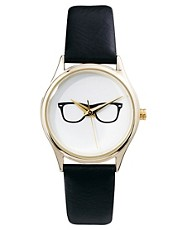 Reloj con diseo de gafas de ASOS