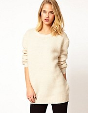 Selected Fisherman Rib Jumper