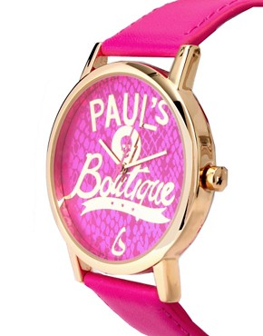 Image 4 ofPaul&#39;s Boutique Logo Face Watch