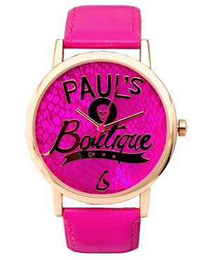 Image 1 ofPaul&#39;s Boutique Logo Face Watch